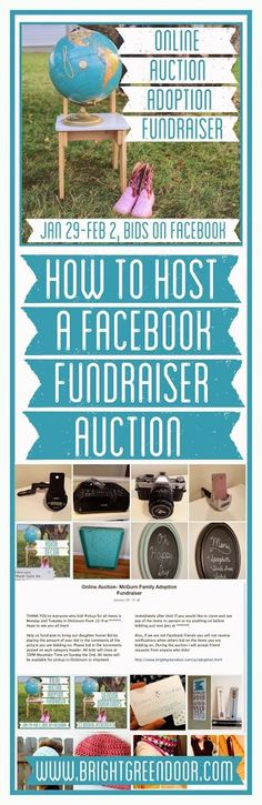 How to Host an Online Adoption Auction Fundraiser Nonprofit Fundraising, Fundraising Ideas, Fundraising Events, School Fundraisers, Silent Auction, Raise Funds, Bake Sale, Non Profit, How To Raise Money