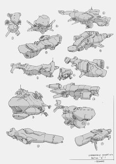 SubSketches2, BKP Group on ArtStation at https://www.artstation.com/artwork/subsketches2: