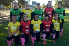 softball team costume - Google Search
