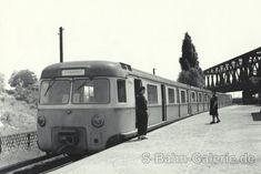 ET 170 003- Blaues Wunder um 1961 im Betriebsbahnhof Rummelsburg.