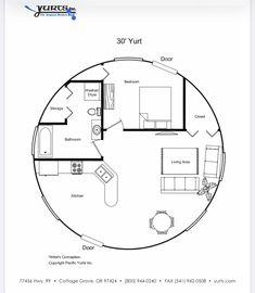 Yurt Interior, Yurt Home, Yurt Living, Earth Bag Homes, Silo House, Open Floor House Plans, Hawaii Homes, Dome House, Round House