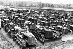 Alternative History of the Winter War - The Lyngenfjord Highway - Construction machinery assembled at Oulu, early 1939 (http://www.alternativefinland.com/the-lyngenfjord-highway-1939/)