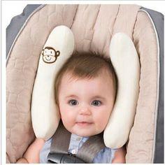 Cuidados com o bebê em forma de U travesseiro travesseiro de viagem assento de carro infantil / carrinho de almofada infantil posicionador bebê apoio pescoço assento de carro