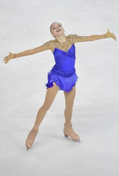 Elena Radionova of Russia skates to win Gold in the Ladies Free Skate program during day two of Trophee Eric Bompard ISU Grand Prix of Figure Skating at the Meriadeck Ice Rink on November 22, 2014 in Bordeaux, France.