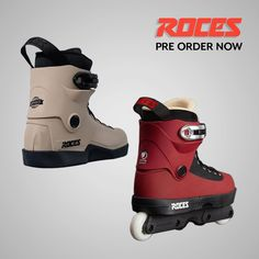 The Roces Lo Sesame / Roces Fifth Element are now available to Pre Order! Roller Skating, Ice Skating, Aggressive Skates, Skateboard Ramps, Quad Skates, Inline Skating, Divas, Sneakers Nike, Boots