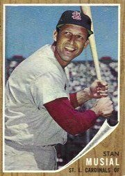 1962 Topps #50 Stan Musial - EX by Topps. $52.00. 1962 Topps Co. trading card in excellent condition, authenticated by Seller