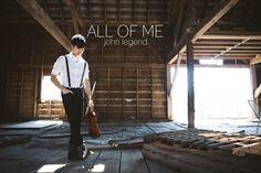 All of Me - John Legend - Violin and Guitar Cover - Daniel Jang  So beautiful :)