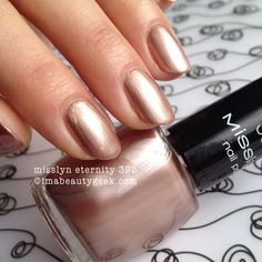 misslyn eternity 393 nail polish - click thru to imabeautygeek.com for MEGA-swatchin' of Misslyn!