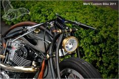 custom yamaha sr400 bobber   mark huang   new pics - bikerMetric