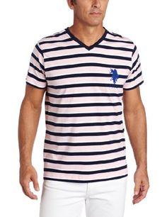 U.S. Polo Assn. Men's Short Sleeve Striped T-Shirt, Pink Lemonade, Large U.S. Polo Assn.,http://www.amazon.com/dp/B00BN2MJT4/ref=cm_sw_r_pi_dp_Cx5Btb1M1S6PCAWJ