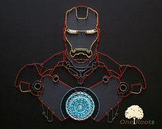 string art spiderman - Google Search