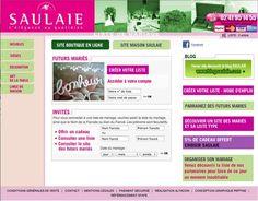 Réalisation Site Internet - SAULAIE - http://www.liste.saulaie.com