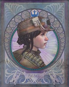CONCEPT SPARKS - May the force be with her. One, an outsider, the...