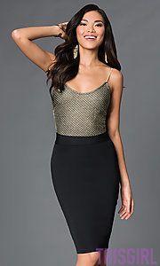 7c2f5c590bfc Shop short prom dresses and short cocktail dresses at PromGirl. Short  formal dresses