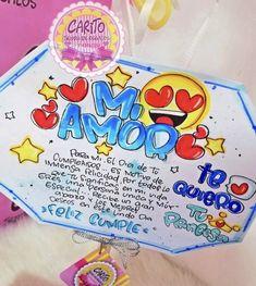 Soy Luna Logo, Cute Boyfriend Gifts, Happy Birthday Love, Chalkboard Paint, Cross Stitching, Birthday Cards, Diy And Crafts, Preschool, Scrapbook