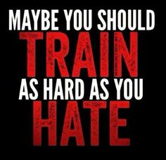 No matter how many inspirational fitness quotes I pin, this will always be the best and most relevant one