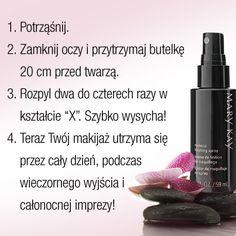 Spray Utrwalający Makijaż - Aplikacja #marykay
