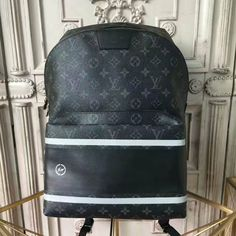 8e6490a5879 LOUIS VUITTON Replica Online Shop - Apollo Backpack Monogram Eclipse Flash  is exclusively of top original order quality. Discover more of our Handbags  ...