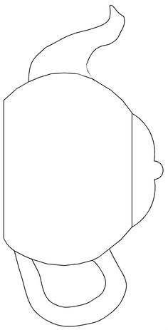 "teapot templates free printable | Cut the teapot, handle and spout from 3/4"" cedar using these patterns ..."