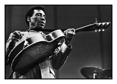 T Bone Walker by Roberto Polillo. T-Bone defined Texas Blues following Blind Lemon Jefferson, and leading to BB King's style.
