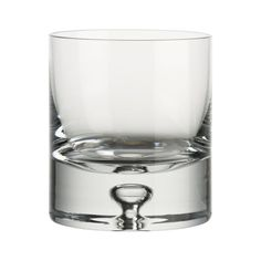 Direction 9 oz. Double Old-Fashioned Glass | Crate and Barrel