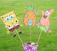 spongebob party / bob esponja fiesta
