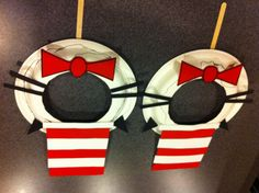 awesome diy idea for cat in the hat party