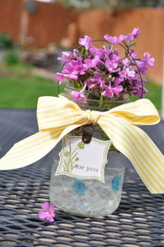 Sweet and Simple Mother's Day Mason Jar Vase