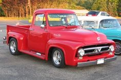 Truck Love!  1955 Ford-