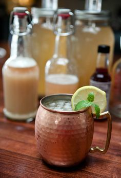 Dark and Stormy Ginger Beer