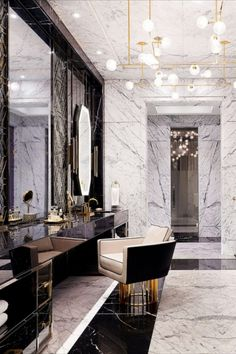 Ferris Rafauli is the interior designer behind Drake's Architectural Digest featured new manor. Click on the picture to see more! Retail Interior, Best Interior, Luxury Interior, Luxury Furniture, Interior Architecture, Luxury Home Decor, Unique Home Decor, Luxury Homes, Luxurious Homes
