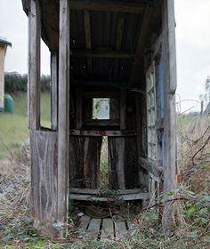 Old outhouse, Retaruke, Manawatu - Whanganui, New Zealand by brian nz, via Flickr