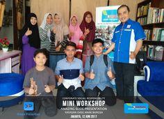 "CSR Mini Workshop ""Amazing Slide Presentation"" bersama Yayasan OASE Anak BAngsa, Jakarta 12 Juni 2017"