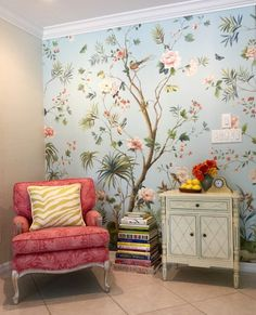 Charleston Mural from Charleston Home Collection by Jaima Brown Home