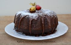 Orthodox Easter, Death By Chocolate, Greek Recipes, Dairy Free, Food And Drink, Pudding, Sweets, Healthy Recipes, Healthy Foods