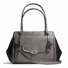 Coach  MADISON MADELINE EAST/WEST SATCHEL IN SPECTATOR SAFFIANO LEATHER