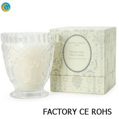 2016 new products vintage home decor crystal glass candle jar 100% payment protection for your covered