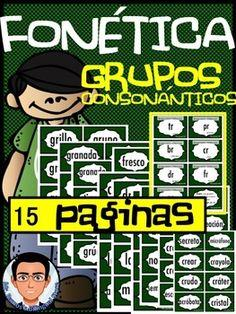FONETICA GRUPOS CONSONANTICOS - TeachersPayTeachers.com