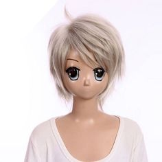 Short silver white wig Final Fantasy XIII FFXIII HopeEstheim wig cool style costume wig by GOOACTION. $23.28. Material : High temperature wire. Hair Style: Cosplay Wigs. Length :about 13.77 Inch. Package:1 PCS. Color : AS PICTURE ,Color Shown: (Color may vary by monitor.). Brand: GOOACTION Recommended features: 1. Super natural wig , suitable for almost every lady aged from teenagers to adults. 2. With the high technology, Miss Beauty wig series are quite soft and sm...