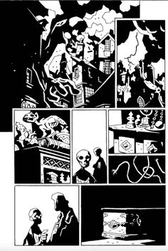 Hellboy in Hell 7 page 17 Mike Mignola, in Kevin Hoffman's Mike Mignola Hellboy Comic Art Gallery Room Comic Tutorial, Comic Art, Illustration, Comic Book Pages, Art, Mike Mignola Art, Hellboy Art, Cartoons Comics, Storyboard Ideas