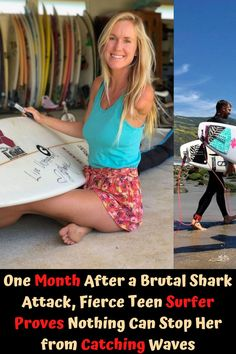Bethany Hamilton is one of the most popular and successful female surfers out there. But it's not only her competition winnings that make her so inspirational, but her comeback story, that is a result of what happened to her at the start of her career, when she was barely a teenager. Fenrir Tattoo, Bum Tattoo, Tattoo Quotes About Strength, Discreet Tattoos, Blonde Waves, Aloe Vera Face Mask, Edgy Makeup, Cosmetic Tattoo, Funny School Jokes