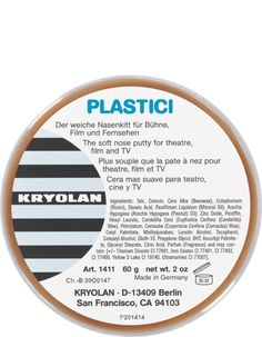 Plastici 60 g | Kryolan - Professional Make-up