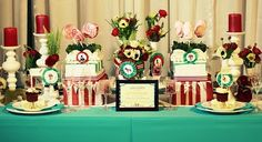 Sophisticated Vintage Circus Party