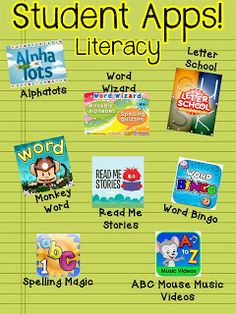 Literacy apps for kids