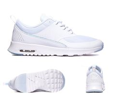 Nike Air Max Thea Premium Trainers White Blue Tint S92299