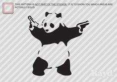 Panda decals
