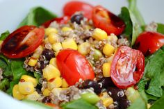 Southwestern Quinoa Salad - Fit Foodie Finds