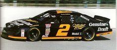 #2 Miller Genuine Draft 1991-1995 Rusty Wallace Powerslide model car nascar deca - Powerslide - Powerslide Decals -