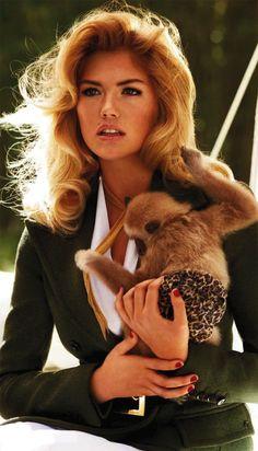 Kate Upton & Co By Sebastian Faena & Carine Roitfeld for Harpers Bazaar Australia May2013