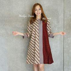 Batik Fashion, Boho Fashion, Fashion Outfits, Fashion Design, Blouse Batik, Batik Dress, Model Kebaya Modern, Batik Kebaya, African Print Skirt